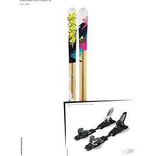 K2 SKI Set: Missconduct 2013 + Marker Griffon Schizo 13