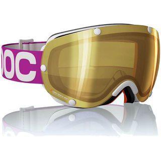 POC Lobes, Purple/Clear/Gold mirror - Skibrille