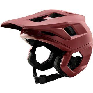 Fox Dropframe Pro Helmet, chili - Fahrradhelm