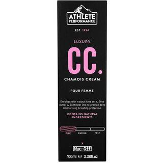 Muc-Off Luxury Chamois Cream - Pour Femme, 100 ml - Sitzcreme