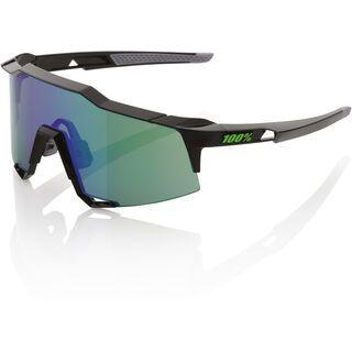 100% Speedcraft, black/Lens: mirror - Sportbrille