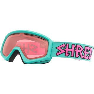 Shred Mini, air mint/Lens: ruby - Skibrille