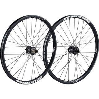 Spank Spoon 32 Wheelset 26, black - Laufradsatz