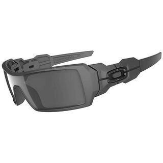 Oakley Oil Rig, Matte Black/Black Iridium - Sonnenbrille