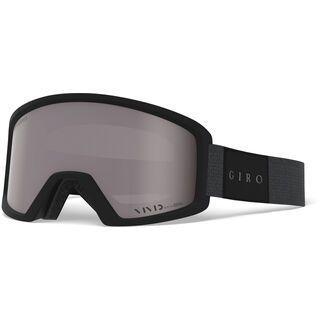 Giro Blok, black mono/Lens: vivid onyx - Skibrille