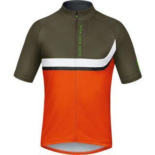 Gore Bike Wear Power Trail Jersey, orange/green - Radtrikot
