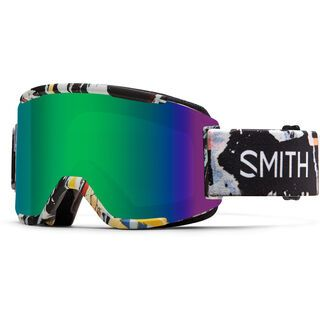 Smith Squad inkl. Wechselscheibe, ripped/Lens: green sol-x - Skibrille