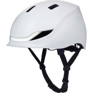 Lumos Street Helmet jet white