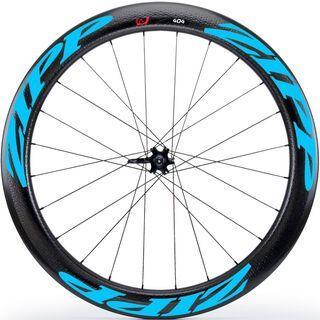 Zipp 404 Firecrest Tubular Disc-brake, schwarz/blau - Hinterrad