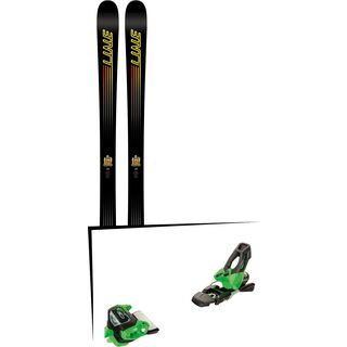 Set: Line Honey Badger 2018 + Tyrolia Attack² 11 GW green