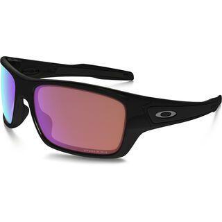 Oakley Turbine Prizm Golf, polished black - Sonnenbrille