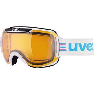 uvex Downhill 2000 Race, white-black/Lens: lasergold lite - Skibrille