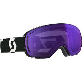 Scott LCG Compact, black/white/Lens: light sens blue chr - Skibrille