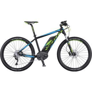 Scott E-Aspect 720 CX 2016, black/green/blue - E-Bike