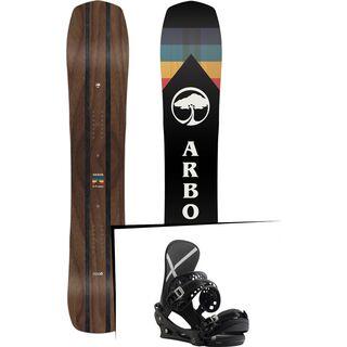 Set: Arbor A-Frame 2019 + Burton X-Base black
