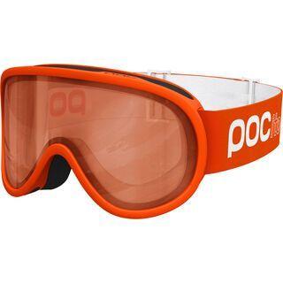 POC POCito Retina, fluorescent orange/Lens: orange - Skibrille