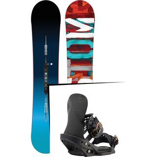 Set: Burton Custom Flying V 2017 +  X-Base EST (1712957S)