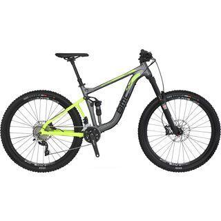 BMC Speedfox 03 Trailcrew SLX/XT 2016, grey/yellow - Mountainbike