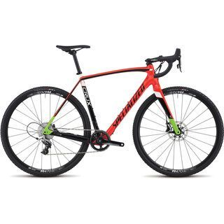 Specialized CruX Elite X1 2017, red/black/mo green - Crossrad