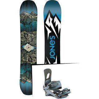 Set: Jones Mountain Twin Wide 2019 + Nitro Rambler blue steel