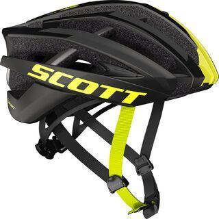 Scott Vanish 2, black yellow - Fahrradhelm