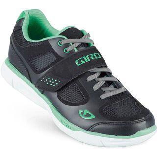 Giro Whynd, black/dynasty green - Radschuhe