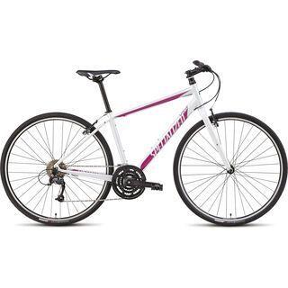 Specialized Vita Sport 2015, Gloss Metallic White/Pink/Charcoal - Fitnessbike