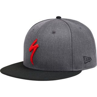 Specialized New Era 9Fifty Snapback Hat heather gray/black/red