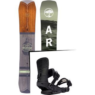 Set: Arbor Westmark Camber 2017 + Ride Rodeo (1178212S)