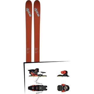 DPS Skis Set: Wailer 105 Pure3 2016 + Salomon Warden MNC 13