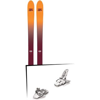 Set: DPS Skis Wailer F99 Foundation 2018 + Marker Squire 11 white