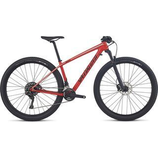 Specialized Woman's Epic HT Comp Carbon 29 2017, red/black/turquoise - Mountainbike