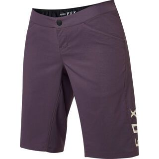 Fox Womens Ranger Short with Liner, dark purple - Radhose