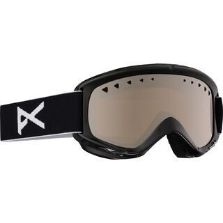 Anon Helix + Spare Lens, black/silver amber - Skibrille