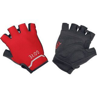Gore Wear C5 Kurzfingerhandschuhe, black/red