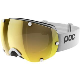 POC Lobes Clarity, hydrogen white/Lens: spektris gold - Skibrille
