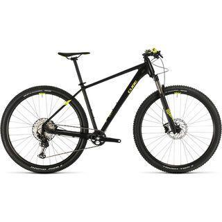*** 2. Wahl *** Cube Reaction Pro 29 2020, black´n´flashyellow - Mountainbike | Größe 19 Zoll
