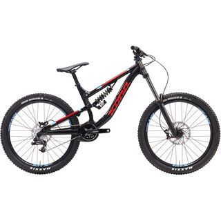 Kona Stinky 26 2017, black/red - Mountainbike