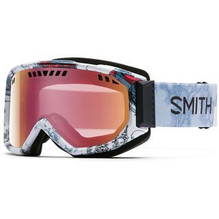 Smith Scope, vagabond/red sensor mirror - Skibrille