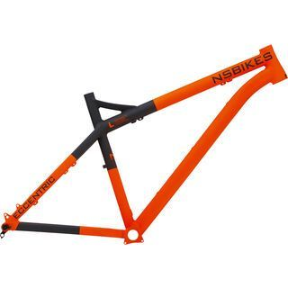 NS Bikes Eccentric Alu Frame 2017, orange