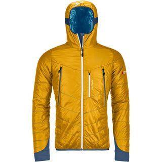 Ortovox Swisswool Light Tec Piz Boè Jacket M, yellowstone - Thermojacke