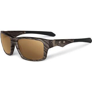 Oakley Jupiter Squared, Woodgrain/Tungsten Iridium Polarized - Sonnenbrille