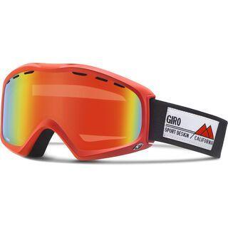 Giro Signal, glowing red frame pop/persimmon blaze - Skibrille