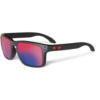 Oakley Holbrook, matte black/Lens: positive red iridium - Sonnenbrille