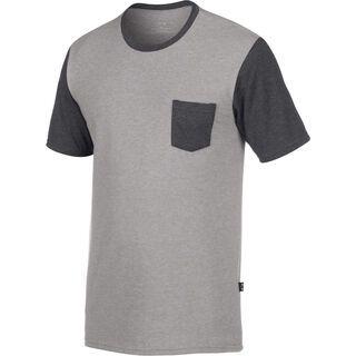 Oakley 50/50 Solid Pocket, heather grey - T-Shirt
