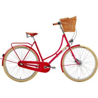 Creme Cycles Holymoly Lady Doppio 2016, raspberry - Cityrad