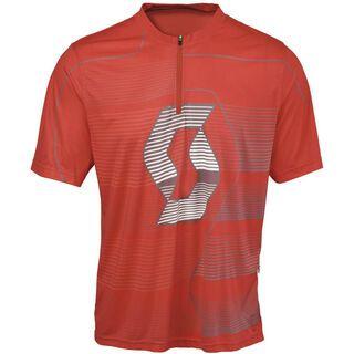 Scott Shirt Path ICN s/sl, red - Radtrikot