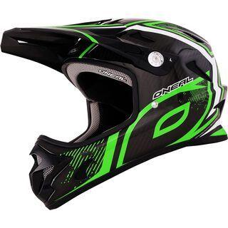ONeal Spark Fidlock Carbon DH Helmet Race, neon green - Fahrradhelm