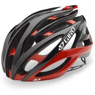 Giro Atmos II, red/black - Fahrradhelm