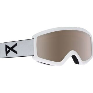 Anon Helix 2.0 inkl. Wechselscheibe, white/Lens: silver amber - Skibrille